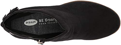 Women's Ankle Lewis Black Microfiber Boot Scholl's Dr HwqxSS