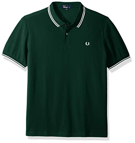 Tipped Verde green Polo Fred Uomo Shirt Twin Perry ivy aqEnOOpY0