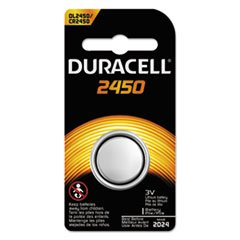 Duracell Products DL2450BPK No. 2450 Button Cell Lithium Battery