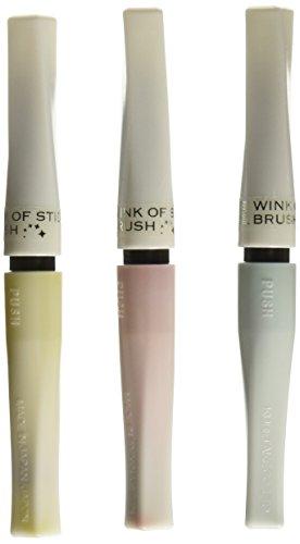Zig Memory System Wink of Stella Brush Glitter Markers, Pretty Garden, Pink, Yellow, Green, 3-Pack
