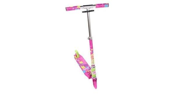 5Star-TD Magna Barbie - Patinete Plegable, Color Rosa y ...