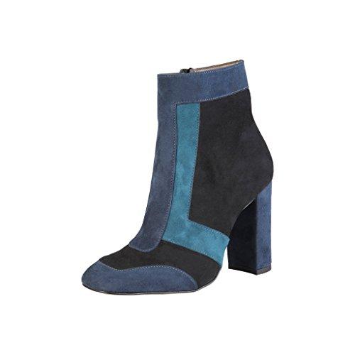 Made In Italia Womens/Ladies Martina High Heel Ankle Boots Brown/Orange/Purple Djkk2