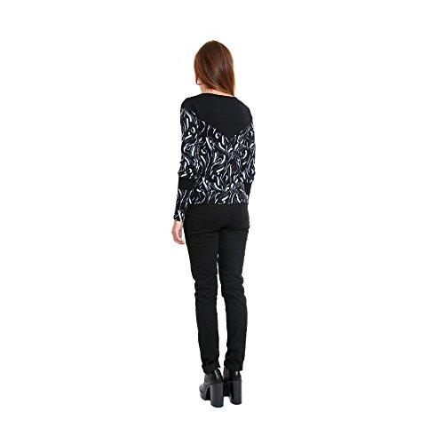 Camiseta Black Mujer Mads Aurora Zergatik 1OHdTqwH