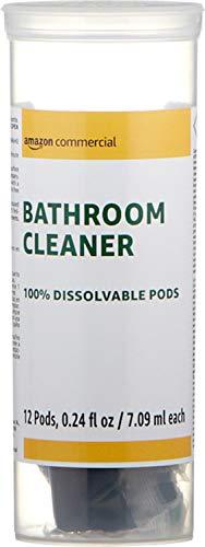 AmazonBusiness Dissolvable Bathroom Cleaner Refill Jar- 12 Pacs