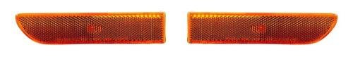 Go-Parts PAIR/SET OE Replacement for 2002-2005 Hyundai Sonata Side Marker Lights Assemblies/Lens Cover - Front Left & Right (Driver & Passenger) Side Replacement For Hyundai Sonata