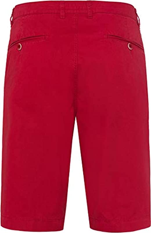 BRAX Męskie Style Bari Bermudahose in Sportiver Chino-Optik Shorts, Rosa (Cherry 45), 52: Odzież