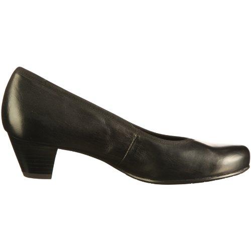 para Cleo cuero mujer de C4200 de Zapatos 001 013 Semler vestir Negro zAwd41q8zx