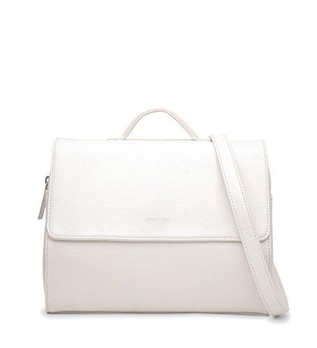 Vintage White Matt Phi amp; Crossbody Handbag Nat wnBBtrpqU
