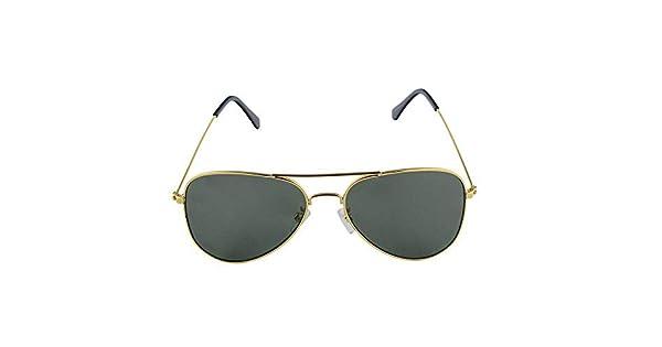 75a25fd3c Óculos de Sol Aviador Verde Militar Khatto: Amazon.com.br: Amazon Moda