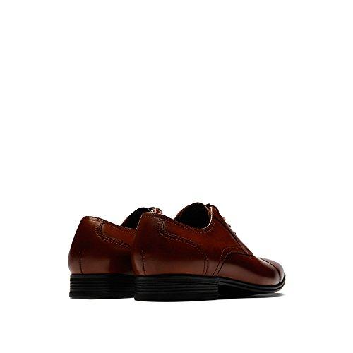 buy cheap discounts Reaction Kenneth Cole Deter-Min-Ed Leather Cap-Toe Shoe - Men's Cognac discount big sale wide range of for sale rKVAy