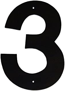 product image for Montague Metal Products Helvetica Font Individual House Number, 3, 8-Inch
