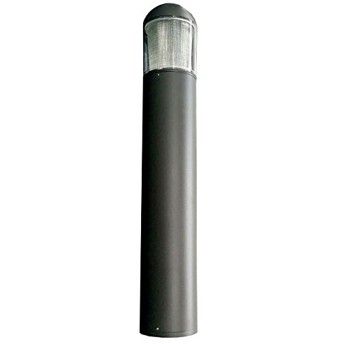 15w USA LED Round Dome Top Bollards with Type 5 Glass 120...