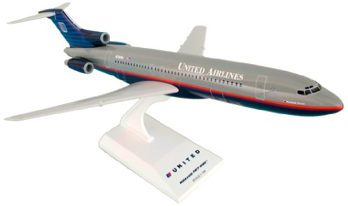 Daron Skymarks United B727-200 90's Scheme Airplane Model Building Kit, 1/150-Scale