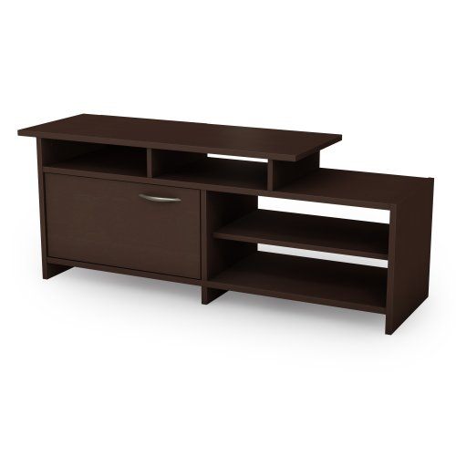 "Step One - TV Stand - Fits TVs Up To 42"" - Chocolate - by"