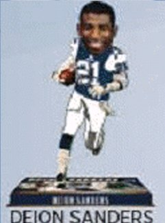 Dallas Cowboys Bobblehead - 8 Inch - Retired Player - Deion Sanders - Sports Dallas In Stores