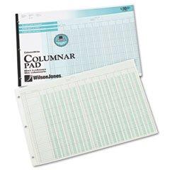 -- Accounting Pad, 13 Eight-Unit Columns, 11 x 16 3/8, 50-Sheet Pad