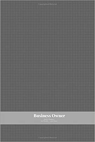 7cd666f53197 Business Owner Daily Planner (Undated): Small Mini Calendar With ...