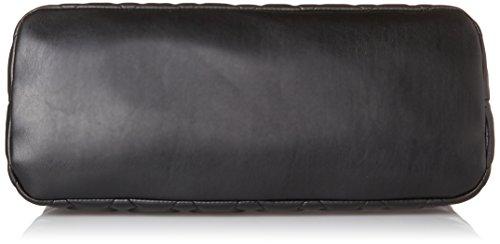 Pollini Damen Bag Henkeltasche, Schwarz (Nero), 40x15x27 cm