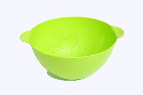 Linden Sweden Daloplast Plastic Colander, 2-Quart, Lime Green
