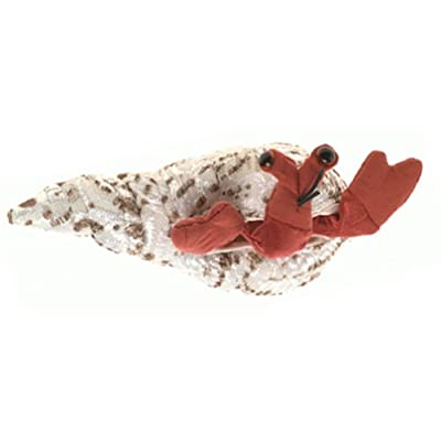 Folkmanis Mini Hermit Crab Finger Puppet: Toys & Games