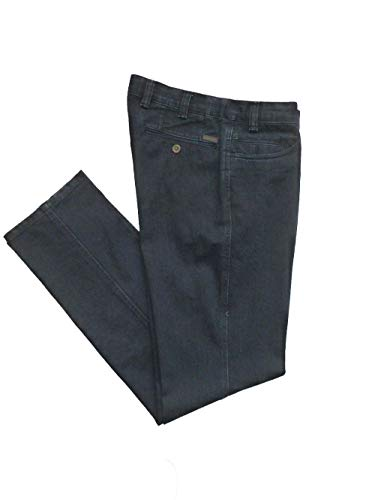 56 935 Brühl Uomo Jeans Unita Tinta Blau Slim schwarz pqB67q8nW