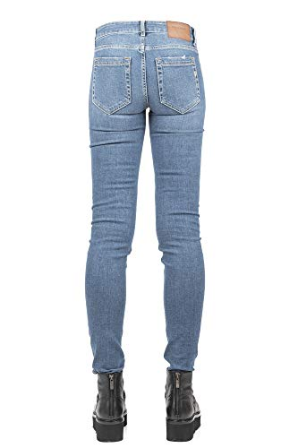Femme DONDUP Coton Bleu P990DS0199T68G Jeans dw1wr7q