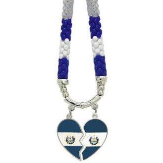 Necklaces EL SALVADOR HEART- - Pais Mexico El