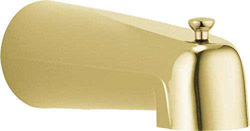 Delta Faucet RP36497PB Tub Spout for Pull-Up Long Diverter, Polished Brass