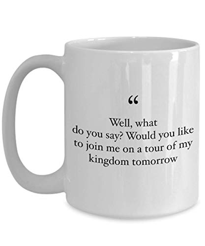 Animation Movie Coffee Mug - Would You Like To Join Me On - Movies Soundtrack Song Lyrics Fairy Tale Mermaid Princess Adventure Cartoon 15 Oz (Best Way To See Epcot)
