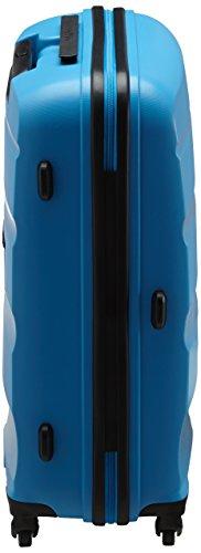 31MWEmwoQaL - American Tourister Bon Air Spinner M Maletas y trolleys, 66 cm, 53 L, Azul (Azul)