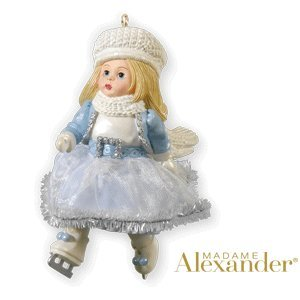 Dazzling Winter Skater #15 In Series 2010 Hallmark Ornament