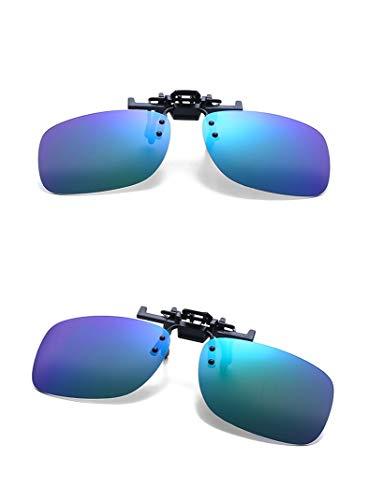 para Reflejado Gafas mujeres esquí y Polarizado Hombres Unisexo clip pesca sol de deporte con conducción 8 Color Clásico Z1OwxgXqdX