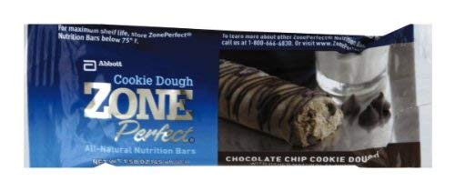 Zone Perfect Chocolate chip Cookie Dough (Pack of 24)