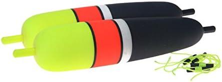 Package Of 2 Beau-Mac 3//8 Oz Torpedo Floats Bobbers EVA Foam Core NEW