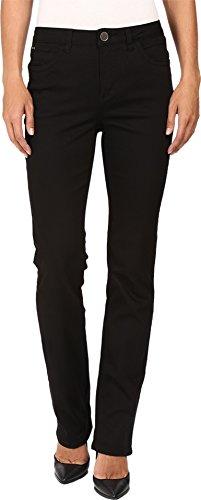 FDJ French Dressing Jeans Women's Supreme Denim Olivia Straight Leg in Black Black Jeans