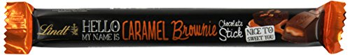 Lindt HELLO Stick, Caramel Brownie, 1.4 Ounce (Pack of 24)