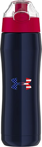 Under Armour Beyond 18 Ounce Stainless Steel Water Bottle,  Americana