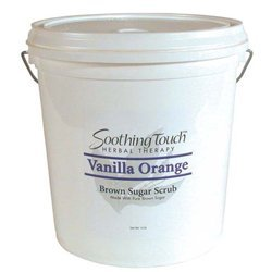 Soothing Touch Vanilla Orange Brown Sugar Scrub, 2 Gallon by Soothing Touch