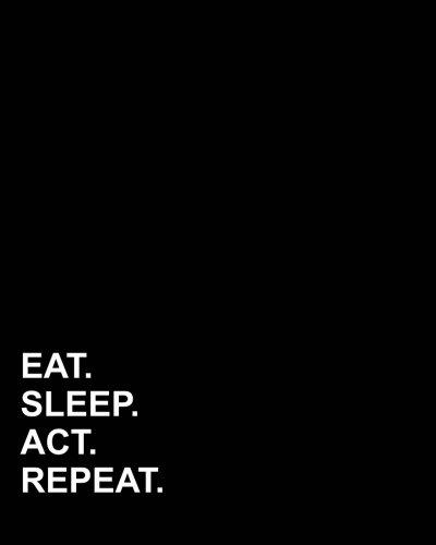 Eat Sleep Act Repeat: Menu Planner, Food Journal, Meal Plan Template: 52 weeks Records & Budget control, Menu Planner for Meal Tracking, Diet Meal Plan With Shopping list (Volume 3) pdf epub