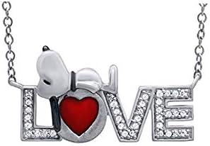 ♥Love Gift♥Peanuts 1/6cttw Sleeping Snoopy...