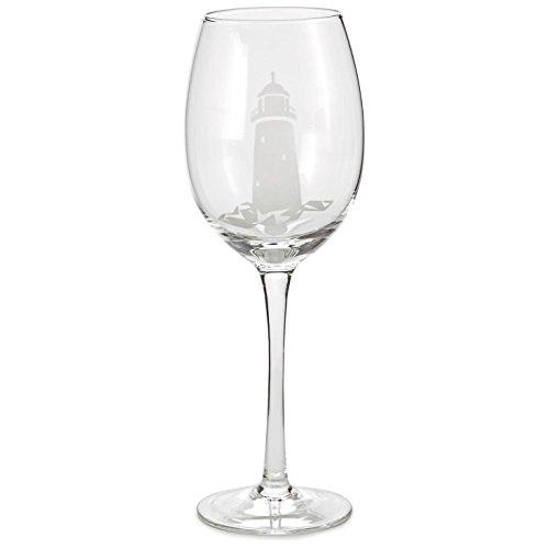 Lighthouse Wine Glass Wine Glasses (Glass Lighthouse)