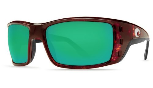 New Costa Del Mar Permit 580G Tortoise/Green Mirror Polarized Lens 59mm - 580g Costa Permit