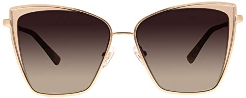 DIFF Eyewear – Becky – Women's Designer Cat Eyes Sunglasses – 100% UVA/UVB (MOCHA TORTOISE + COFFEE GRADIENT)