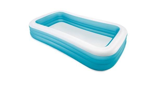 Intex Swim centro por encima del suelo piscina