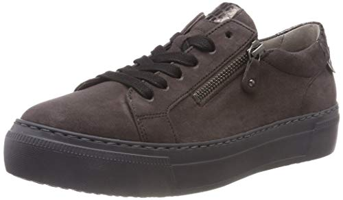 Zinn para Gris Shoes Casual Mujer Gabor Anthrazit Zapatillas 39 Gabor BP0Wq4