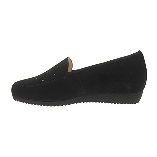 Hassia Women's 301452-0100 Loafer Flats Black eMGodoJbG