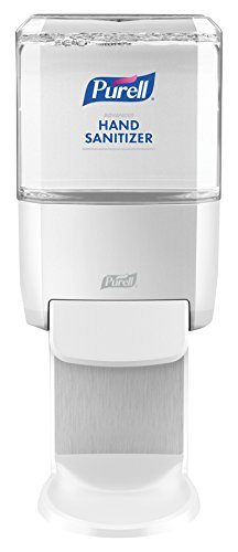 PURELL ES4 Hand Sanitizer Push-Style Dispenser, White, Dispenser for PURELL ES4 1200 mL Sanitizer Refill - 5020-01