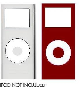 Init Silicon Skins with Screen Protector for 2nd Gen iPod Nano