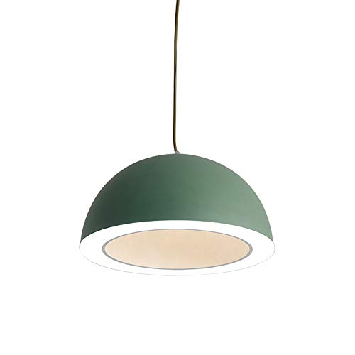Windsor Home Deco, WH-62775G, Modern Pendant Lamp with Metal Lamp Shades, Pendant Lighting for Kitchen Island, Pendant Lights Bar, Green