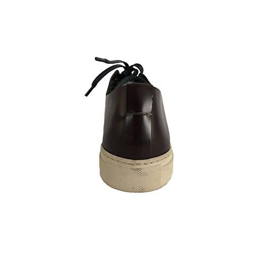 SEBOYS scarpa uomo allacciata bordeaux lacci blu mod P1205/0 MADE IN ITALY